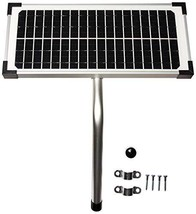 10 Watt Solar Panel Kit FM123 for Mighty Mule Automatic Gate Openers