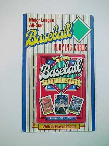 Deck of 1991 Baseball Playing Cards -MOC