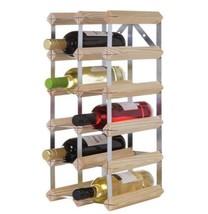 Bar Kitchen Garage Home Wooden Storage 12 Bottle Holder Wine Rack Wood D... - $41.67