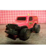 Tonka Clutch Poppers Jeep - Fire Squad - Pushbutton Friction Drive - $5.00