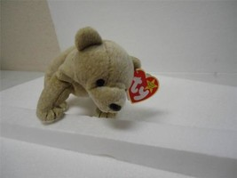 Ty Beanie Baby Original 1999 Almond the Bear with Tags - $8.91
