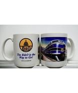B & O BALTIMORE & OHIO RAILROAD COFFEE MUG / trains cup - $17.99