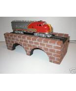 HO SCALE BRICK ARCH BRIDGE  MODEL RAILROAD TRAIN LAYOUT - $19.99