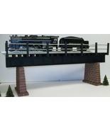 O SCALE MODEL RAILROAD GIRDER BRIDGE MODEL TRAIN LAYOUT - $39.99