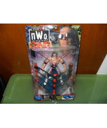 1999 WCW NWO Ring Fighters Bret Hart Figure in the Package - $44.99