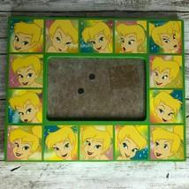 Tinkerbell Disney Store 8″ x 10″ Frame Photo Green Wooden 6″ x 4″ Photo - $12.99