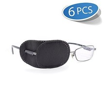 Visual Care Eye Patch Glasses Thin Lazy Treatment Recovery Shield Black ... - $9.65