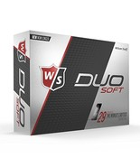 Wilson Staff DUO Golf Ball (Soft|Soft White) - $23.15