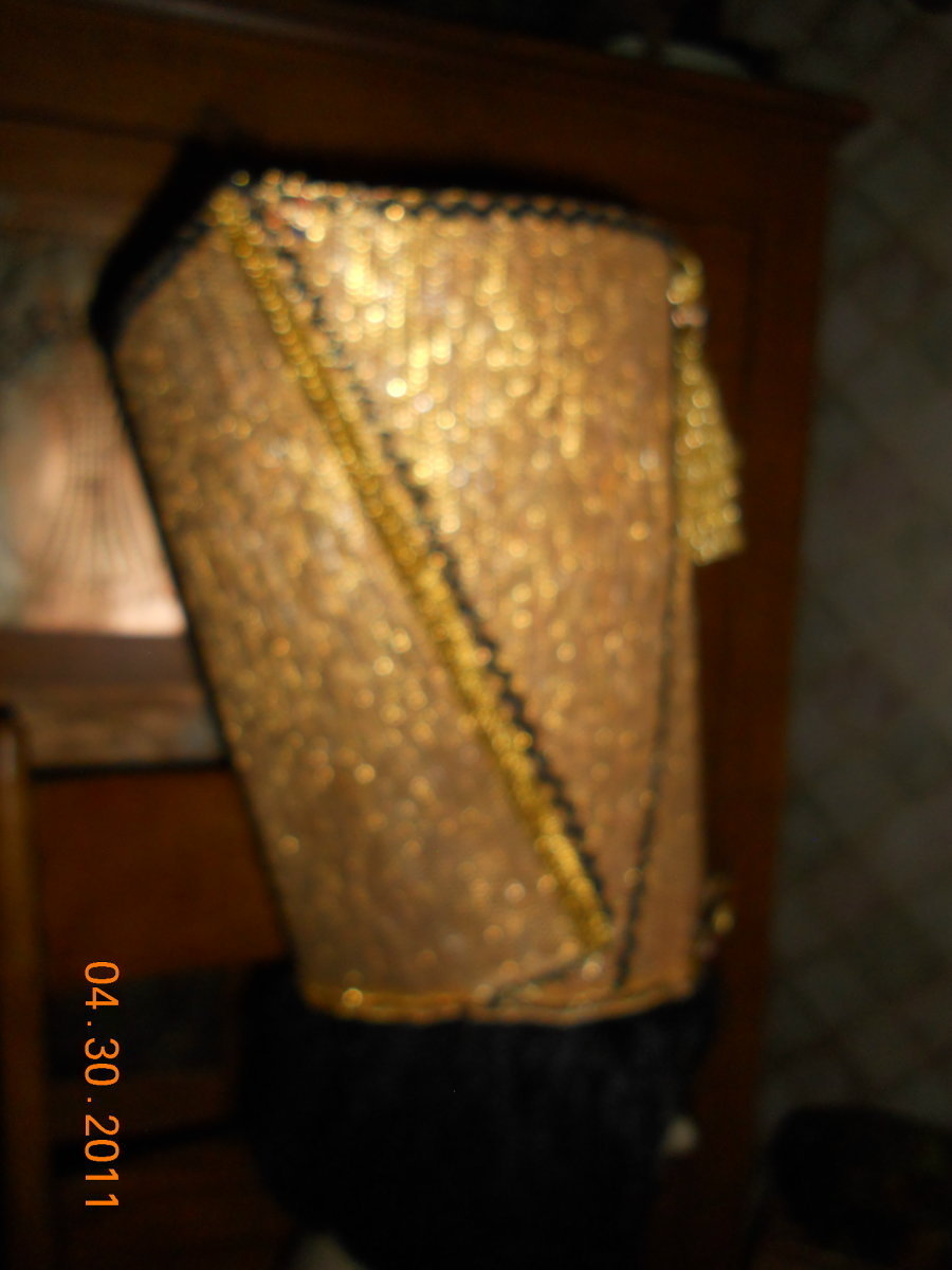 egyptian nefertiti headpiece crown pharaoh king queen hat