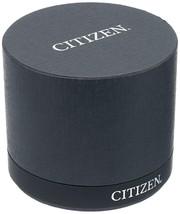 Citizen Mens Watch Chronograph Titanium Leather Eco-Drive BL5551-14H image 2