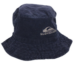 Men's Boonie Hat Reversible Quicksilver Blue Fitted  - $6.00
