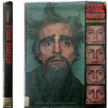Stage Makeup Illustrated HC/DJ OOP! Ralph Richardson/Herman  - $7.00