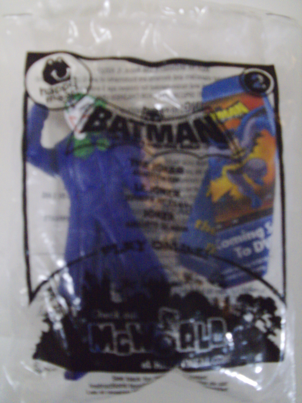 Primary image for DC Comics Batman The Brave and the Bold Joker Squierter McDonald's Toy - New