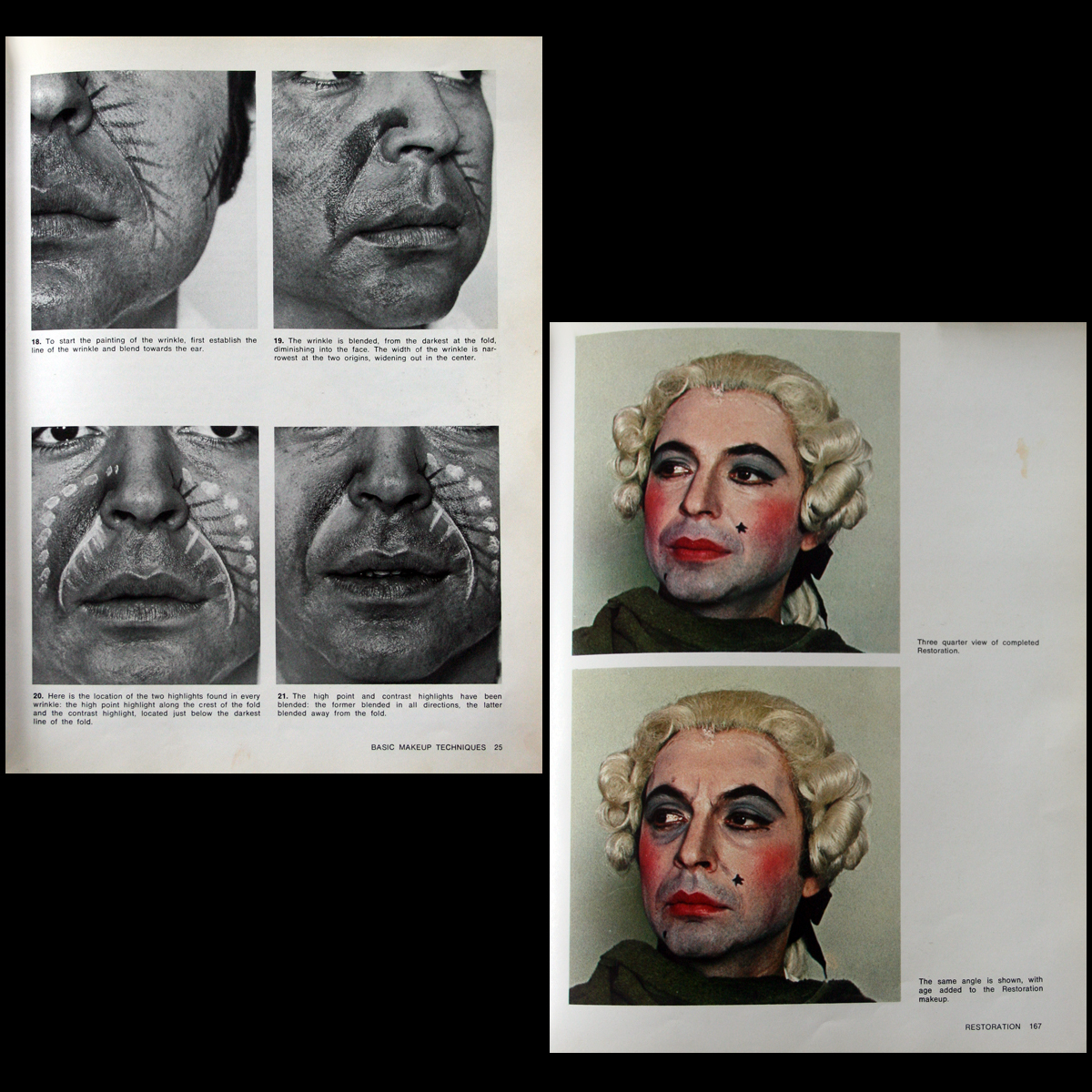 Stage Makeup Illustrated HC/DJ OOP! Ralph Richardson/Herman