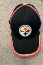 Pittsburgh Steelers NFL Reebok OnField Breast Cancer Pink Ribbon Adjusta... - $17.08