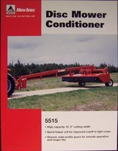 2007? New Idea 5515 Mower Conditioner Specs Sheet - $6.00