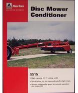 2007? New Idea 5515 Mower Conditioner Specs Sheet - $6.00
