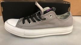 Converse Double Tongue Gray Black Purple Sneakers 540420F  Women's size ... - $54.45