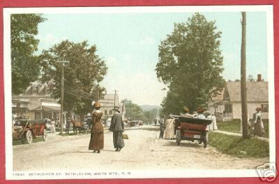 Primary image for White Mts NH Bethlehem St Ladies Cars Postcard BJs