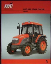 2007 Kioti DK65S Tractor Specifications Sheet - $5.00