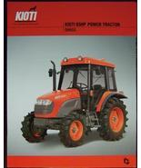 2007 Kioti DK65S Tractor Specifications Sheet - $5.00