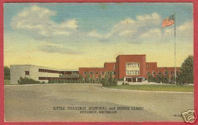 Primary image for PETOSKEY MI Little Traverse Hospital Burns Clinic Linen