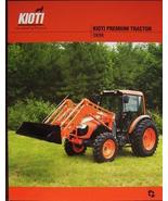 2007 Kioti DK90 Tractor Specifications Sheet - $5.00