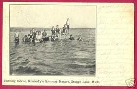 Otsego Lake Michigan Kennedy's Summer Resort Bathers 08 - $10.00