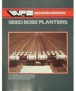 1987 White 5100, 5100N, 5100S, 5700 Seed Boss Planters Brochure - $9.00