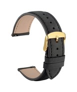 WOCCI Watches Bands 18mm 20mm 22mm Black Crazy Horse Leather Replacement... - $29.89