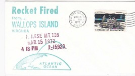 JAPANESE MT 135 ROCKET FIRED WALLOPS ISLAND, VA MARCH 15 1972 - $1.98