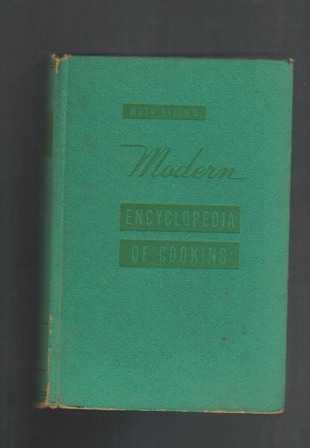 Meta Given's Modern Encyclopedia of Cooking, 1959 Vintage Co