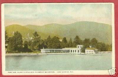 Primary image for Lake George NY Ft Wm Henry Hotel Prospect Postcard BJs