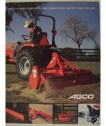 2004 AGCO Tractor Implements Brochure - $6.00
