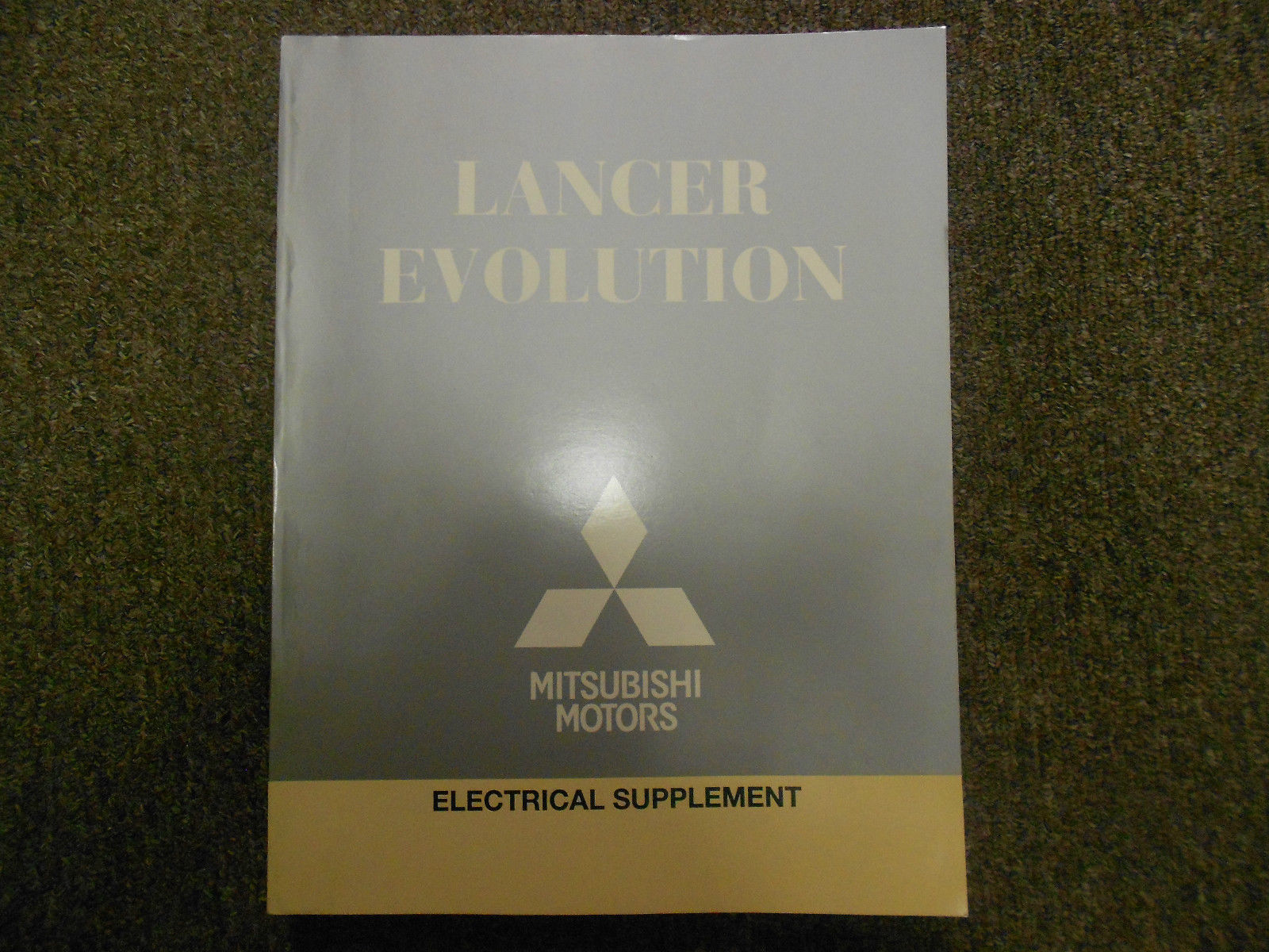 2011 MITSUBISHI Lancer Evolution Electrical Supplement Service Repair Manual NEW