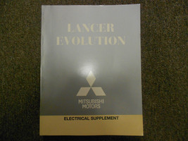 2011 MITSUBISHI Lancer Evolution Electrical Supplement Service Repair Ma... - $87.12