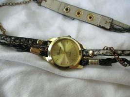Geneva Stylish Multi-Stranded Wrap Wristwatch - $29.00