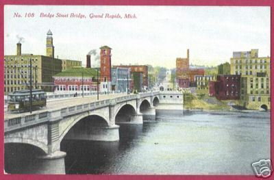 Primary image for GRAND RAPIDS MI Bridge St Bridge Bldgs