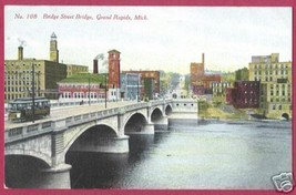 GRAND RAPIDS MI Bridge St Bridge Bldgs - $8.00