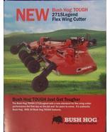2006 Bush Hog 2715 Legend Rotary Mowers Brochure - $6.00