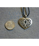 Celtic Heart lead-free Pewter Amulet Made in the U.S.A.  - $7.85