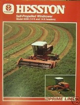 Hesston 8200 Self-Propelled Windrower Specifications Sheet - $7.00