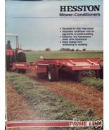 1981 Hesston 1071, 1091, 1010, 1180 Windrowers Brochure - $7.00