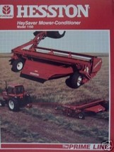 Hesston 1150 Pull Type Windrower Color Brochure - $8.00
