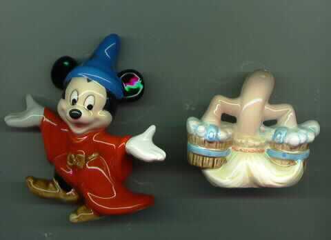 Disney Mickey Mouse Sorcerer old - Salt & Pepper