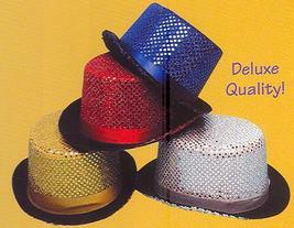 BLUE SEQUIN TOP HAT - $12.00