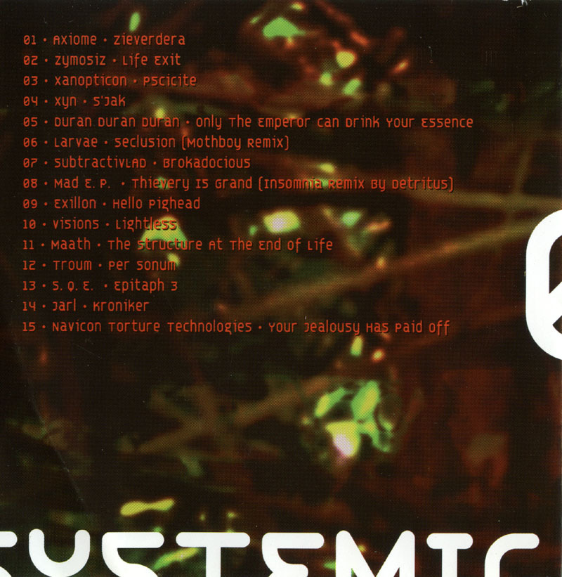 SYSTEMIC 02 CD IDM,Industrial,Dark Ambient, Noise,Breakcore