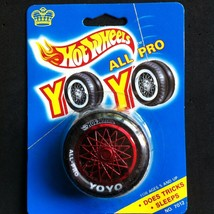 HOT WHEELS 'ALL PRO YO YO' TIRE AND RED SPOKED RIM VINTAGE 1990 - $12.95