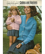 Needlecraft Book- Bernat 130,1966 Knit Cables, ... - $6.99