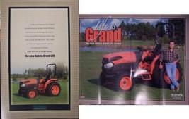 Kubota Grand L40 Series Tractors Brochure/Poster NICE! - $12.00